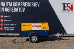 Kompresor CompAir C76 (7 bar - 7,6 m3/min)