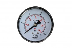 "Manometer Fi 63 mm 0-10 bar 1/4"" BSP"