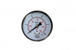 "Manometer Fi 40 mm 0-10 bar 1/8"" BSP"
