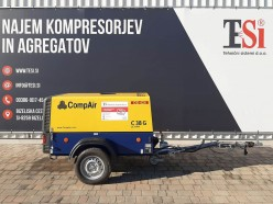 Najem kompresorja Compair C38 G (7 bar - 3,8 m3/min)