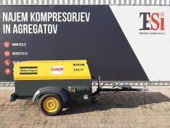 Kompresor Atlas Copco XAS 97 (7 bar - 5,3 m³/min)